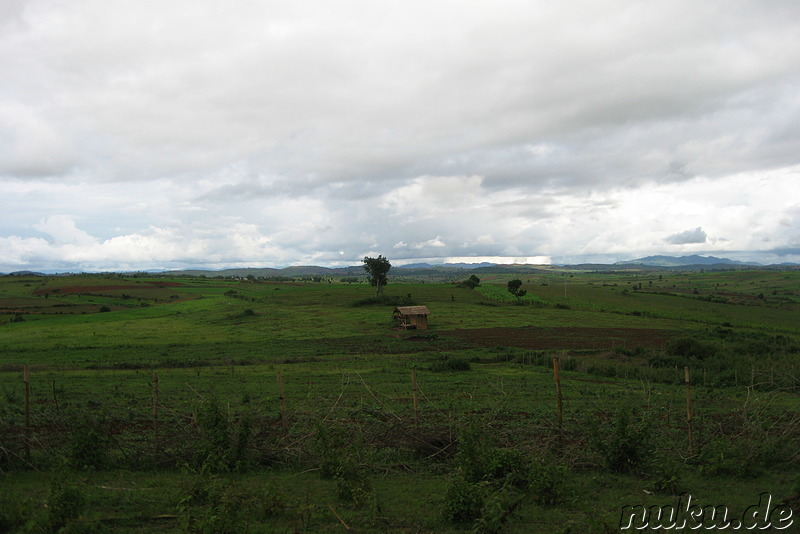 Landschaft in Burma