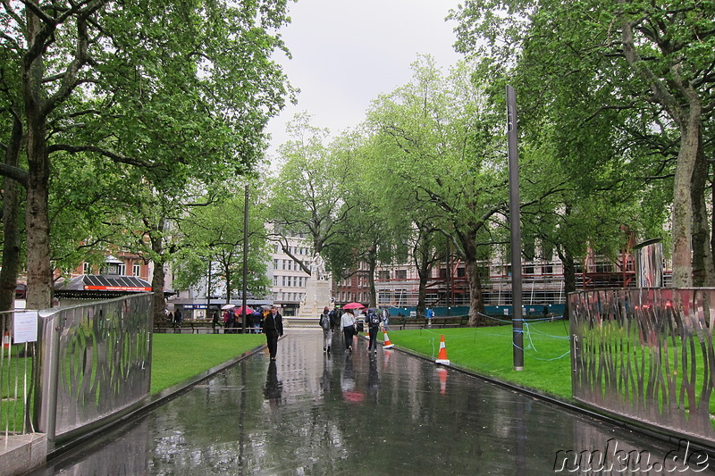 Leicester Square in London, England