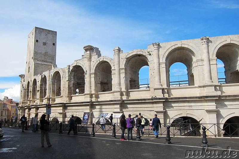 Les Arenes in Arles, Frankreich