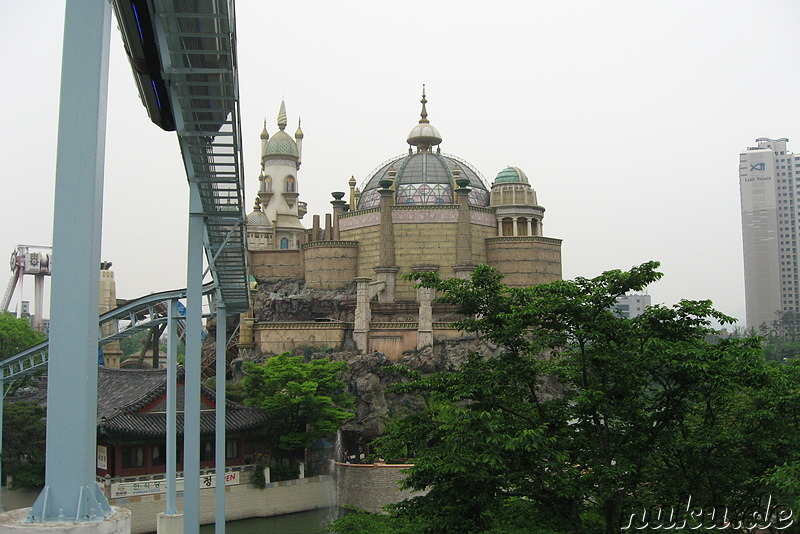 Lotte World Freizeitpark, Seoul, Korea