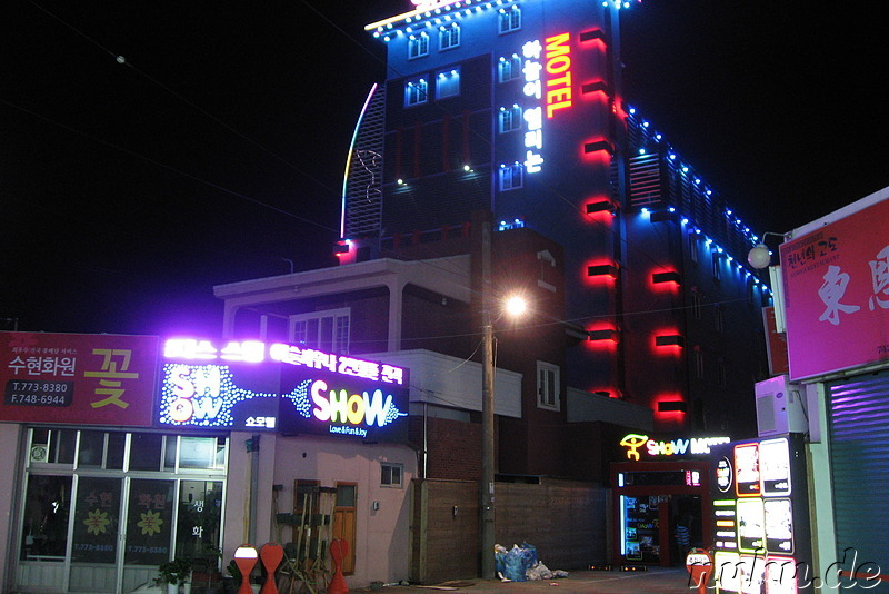 Love Hotel Show in Gyeongju, Korea