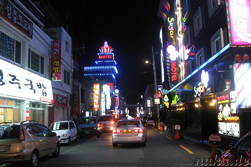 Love Hotels in Gyeongju, Korea