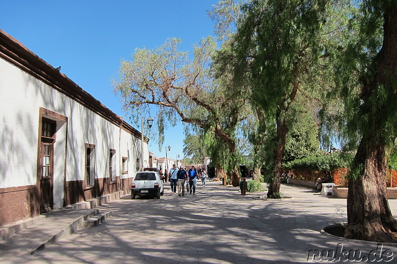 Main Square in San Pedro de Atacama, Chile