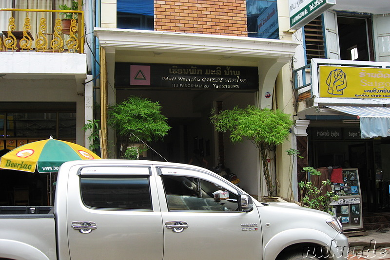 Mali Namphu Guest House in Vientiane, Laos