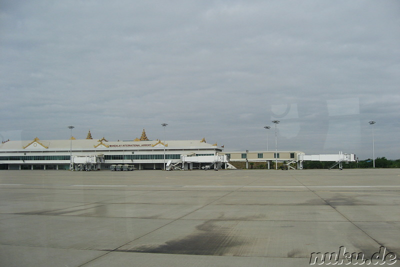 Mandalay International Airport, Burma