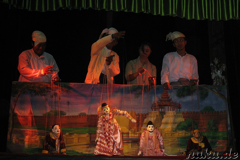 Mandalay Marionettes and Culture Show