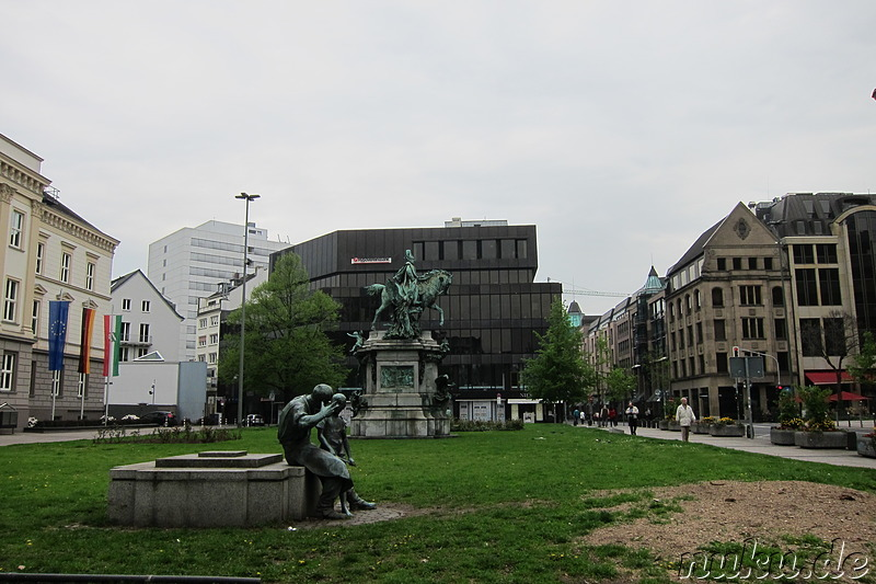Marhin-Luther-Platz in Düsseldorf