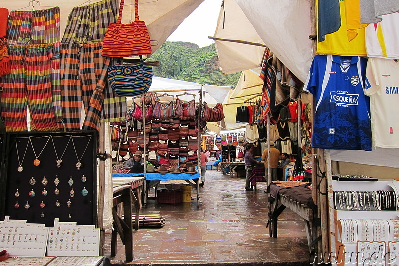 Markt in Pisaq, Urubamba Valley, Peru