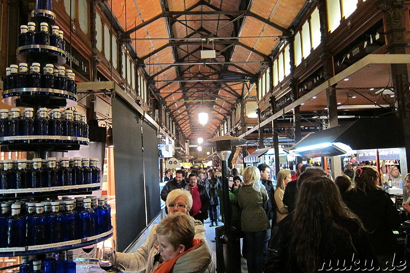 Mercado de San Miguel in Madrid, Spanien