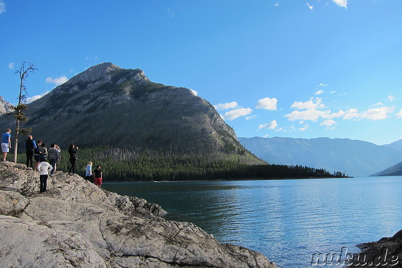 Minnewanka Lake - See im Banff National Park in Alberta, Kanada