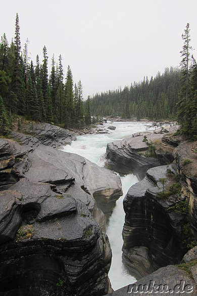 Mistaya Canyon im Banff National Park, Kanada