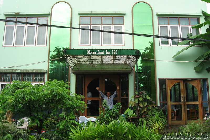 Motherland Inn 2 Hostel in Yangon, Myanmar