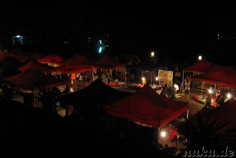 Nachtmarkt in Luang Prabang (Hmong Night Market)