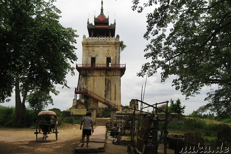 Nanmyin Watchtower in Inwa bei Mandalay, Myanmar