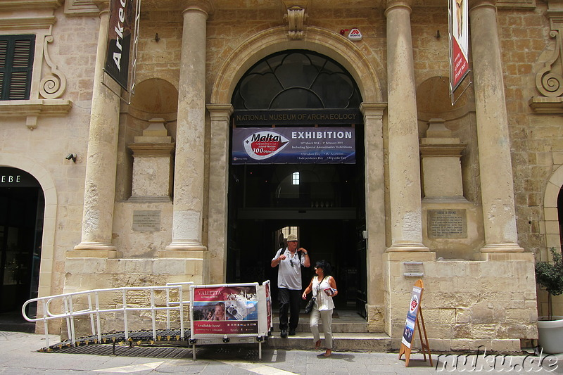 National Museum of Archaeology in Valletta, Malta