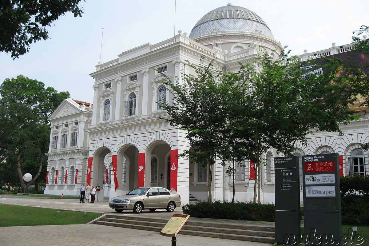 how to go national museum of singapore