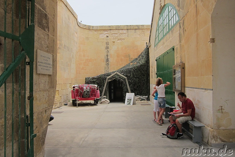 National War Museum in Valletta, Malta