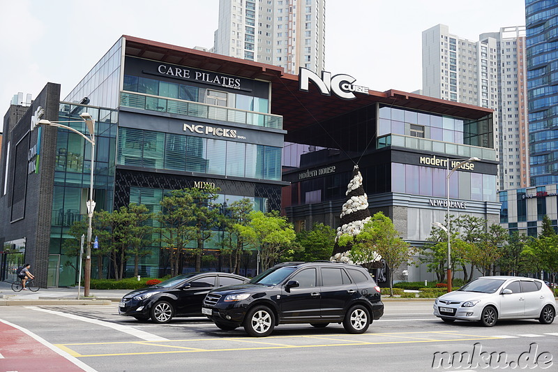 NC Cube Canal Walk - Shopping Mall in Songo, Incheon, Korea