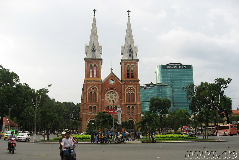 Notre Dame Cathedral in Ho Chi Minh Stadt, Vietnam