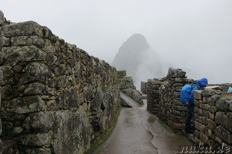 Old City Gate, Machu Picchu, Peru