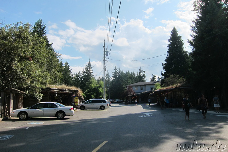 Old Country Market in Coombs auf Vancouver Island, Kanada