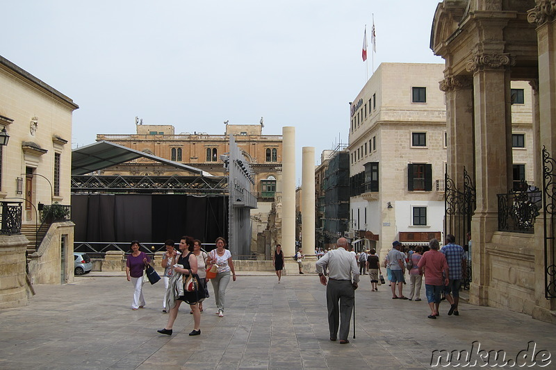Open-Air Oper in Valletta, Malta