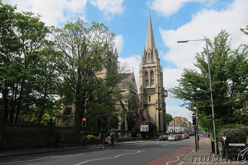 Our Lady R C Church in Cambridge, England