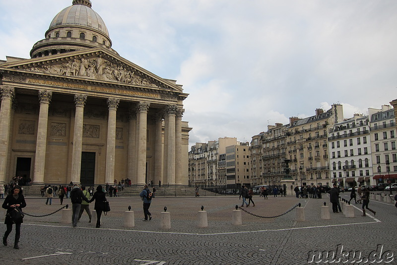 Pantheon in Paris, Frankreich
