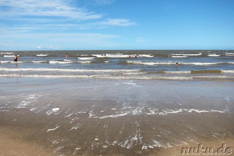 Playa Pocitos - Strand in Montevideo, Uruguay