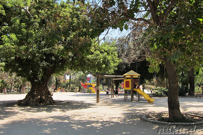 Plaza Brazil in Santiago de Chile