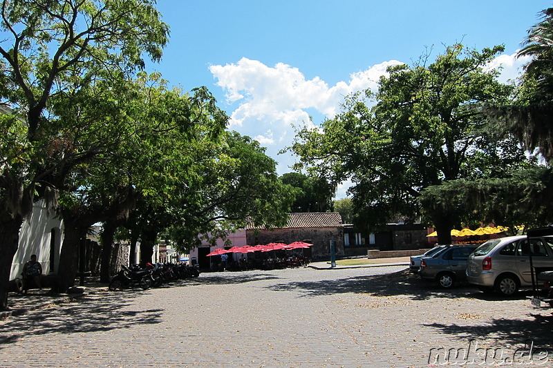 Plaza Mayor in Colonia del Sacramento, Uruguay