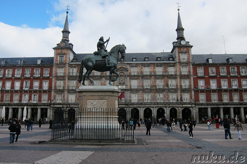 Plaza Mayor in Madrid, Spanien