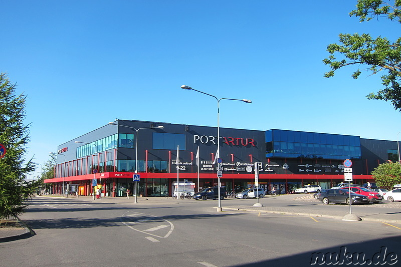 Port Artur Shopping Mall in Pärnu, Estland