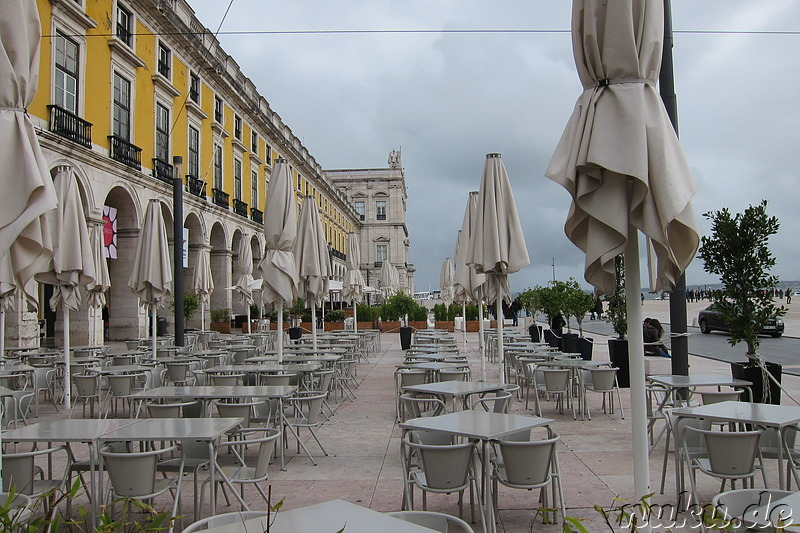 Praca do Comercio in Lissabon, Portugal
