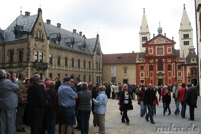 Prag Castle - Schloss in Prag, Tschechien
