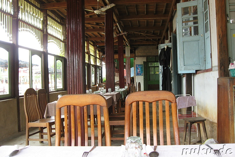 Restaurant in Tha Lay, Myanmar