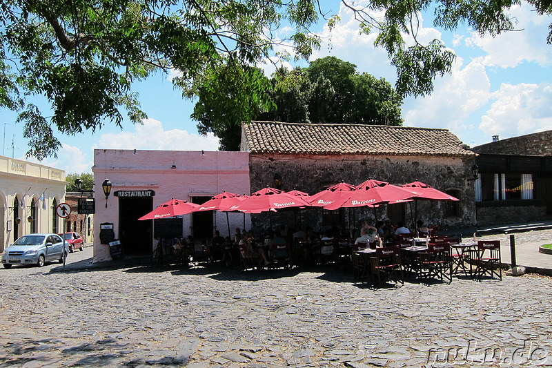 Restaurant Pulperia de los Faroles in Colonia, Uruguay