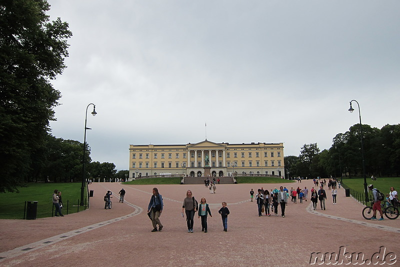 Royal Palace - Königspalast in Oslo, Norwegen
