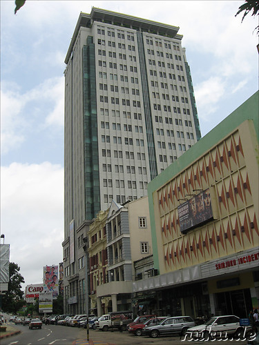 Sakura Tower in Yangon, Myanmar