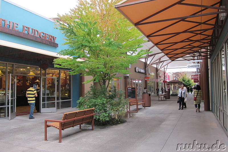 Seattle Premium Outlet bei Seattle, U.S.A.