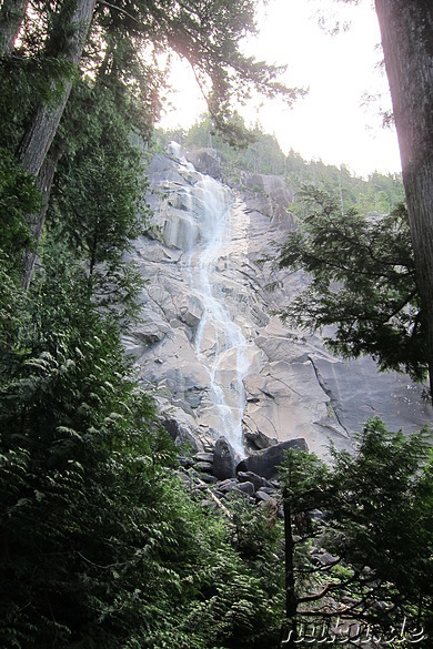 Shannon Falls in British Columbia, Kanada
