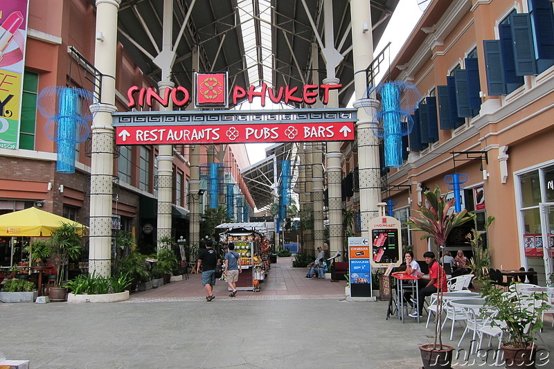 Shopping Mall in Patong auf Phuket, Thailand