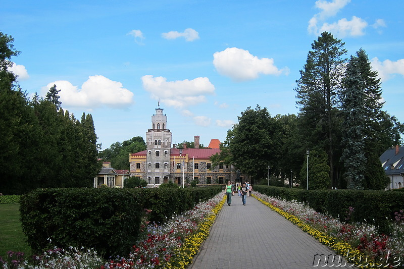 Sigulda New Castle - Neues Schloss in Sigulda, Lettland