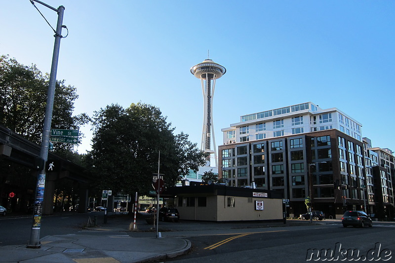 Space Needle in Seattle, U.S.A.