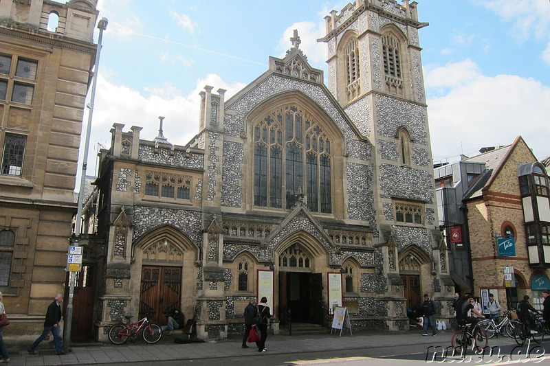 St Andrews Street Baptist Church in Cambridge, London