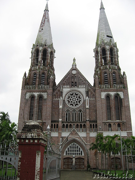 St. Marys Cathedral in Yangon, Burma