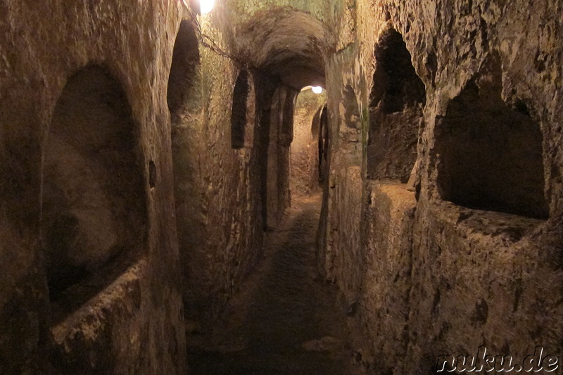 St Paul's Catacombs - Katakomben in Rabat, Malta