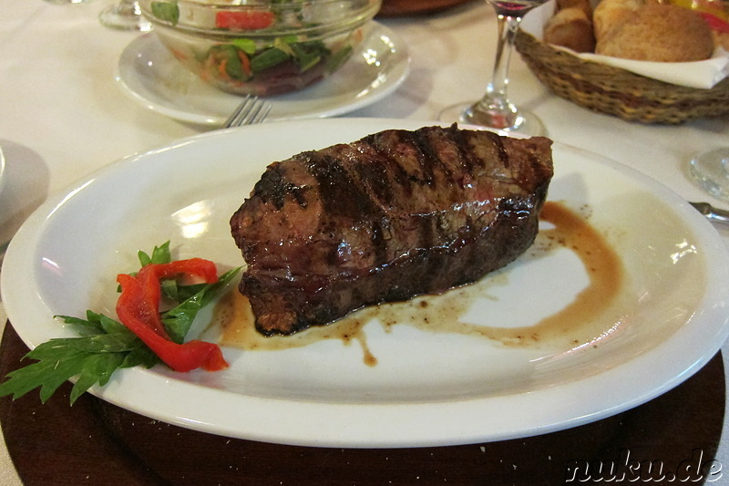 Steakrestaurant Don Mario in Mendoza, Argentinien