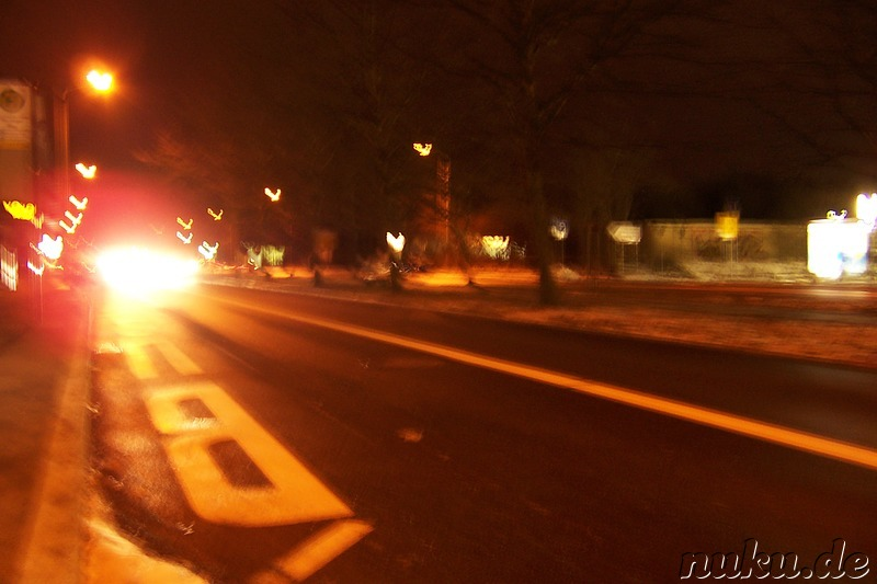 street at night (chemnitz, germany)