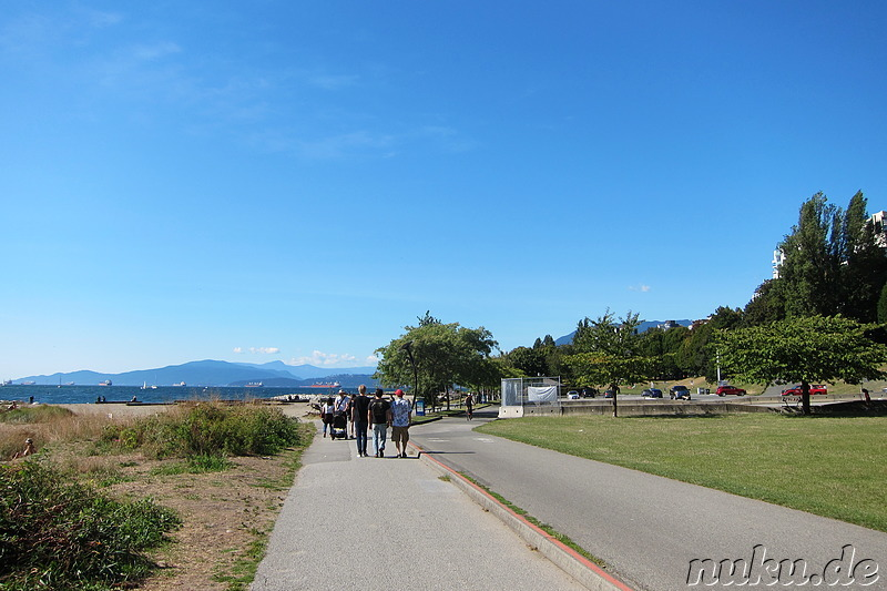 Sunset Beach Park - Strand in Vancouver, Kanada